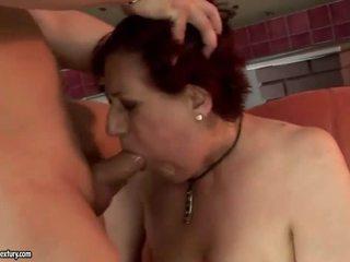 非常に 脂肪 おばあちゃん getting ファック ハード