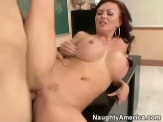 Felony Foreplay gets a fresh load of jizz on her big melons