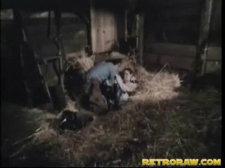 Retro bang inauntru că om stables