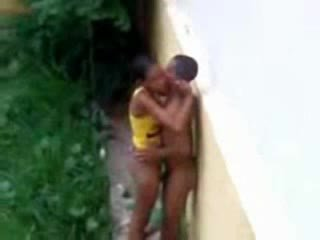Haha black teens caught having sex like cave man sex Video
