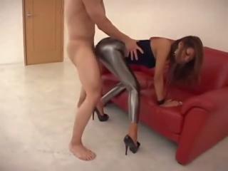 CFNM Leggings Blowjob and Fuck, Free Blowjob Fuck Porn Video