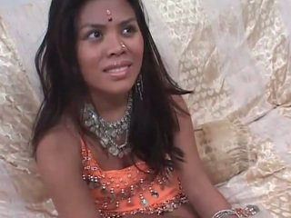 Hot interview before hard sex with one indian teen