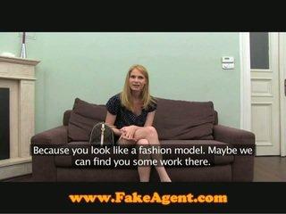 FakeAgent Blonde Russian Beauty