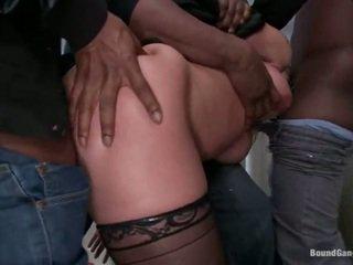 Katja kassin has band baisée par noir guys