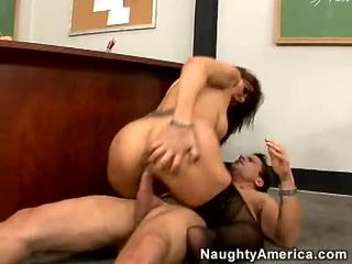 Sexy Honey Desi Foxx Can Not Live Without Getting Shagged On Her Snatch Until She Orgasms