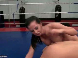 lezbiyen büyük, ideal güreş