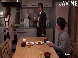 brunette, japanese, ass, masturbation, threesome, amateur