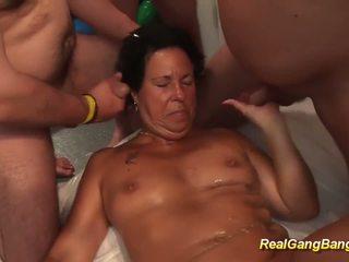 brunette, oral sex, toys