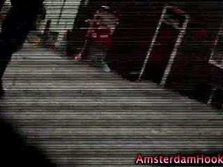 Blonde real amateur amsterdam hooker