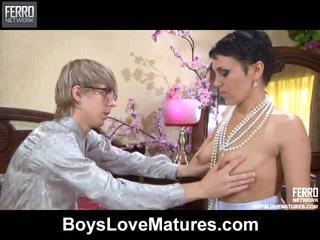 Blande av vids av boys kjærlighet modnes