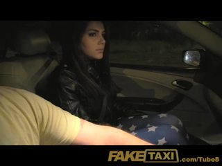 FakeTaxi Beautiful young Napols girl gets taxi stung