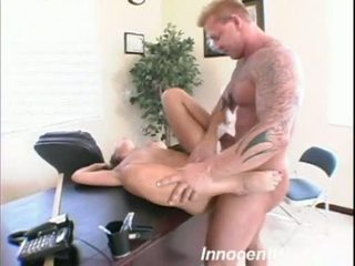 Captivating Penny Flame Receives A Rich Load Of Knob Spurt On Her FAce
