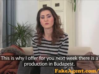 Fakeagent utanjaň innocent brunet fucked hard in kino düşmek interwýu
