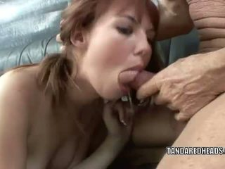 T at a redheads: redhead tinedyer hottie delila darling gets fucked