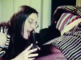 interracial, retro porno, seks w stylu vintage