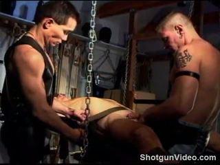 Kuk och boll tortyr warm upp, 3 studs sling suga och fan