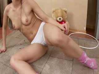 Mariana vācieši getting trakas ar dildo