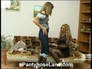 Maria و etta قذر جوارب طويلة حركة