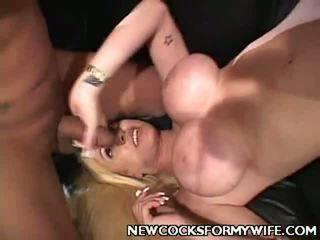 Lang compilatie video's bij groot nieuw cocks voor mijn vrouw compilatie
