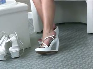 babes, fetiș picior, close ups