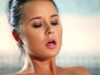 Big tits Mia Manarote sex by the pool