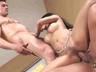 brunette, hardcore sex, blowjobs