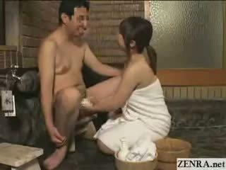 japanese, cfnm, handjob