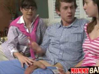 Busty Milf Alexandra Silk Amazing 3some
