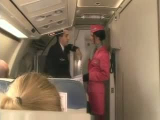 Blonde Stewardess