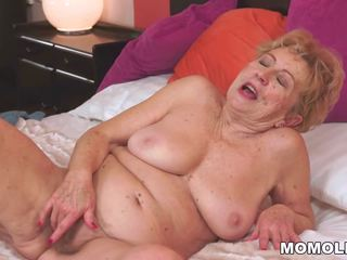 Kinky Old Granny Malya Loves Big Dick, HD Porn 59