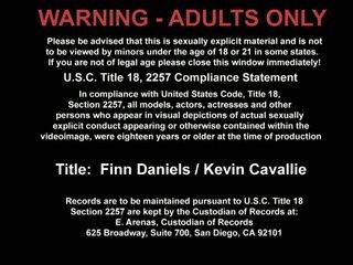 Finn Daniels And Kevin Cavallie