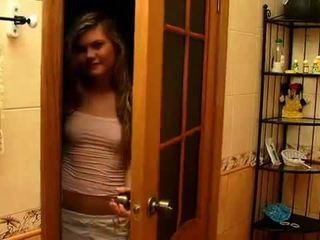 Blondynka nastolatka screwed