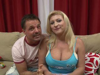 cumshots, blondīnes, big boobs