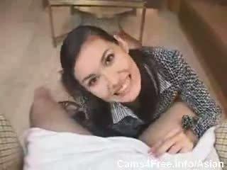 Asiatisch super heiß teen maria ozawa pov blowjob!