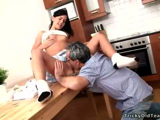 Baby sucks big cock