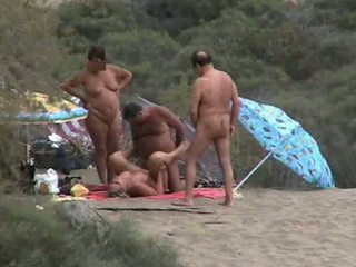 Sex Orgy At Canary Islands Video