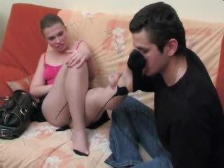 Alana&silvester - lábszex és fasz