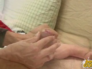Cute Twink Gets A Handjob And Discharges A Load Of Cum.