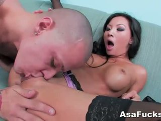 Asa akira gets son chatte pounded dur