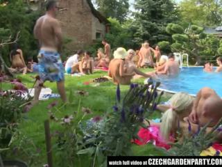 Czech Open Air Sex Party - Porn Video 931