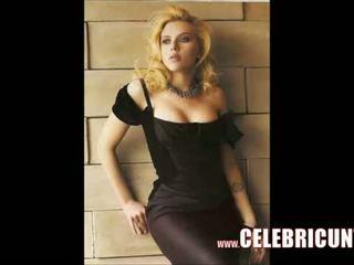 Scarlett johansson nu chatte plein frontal vidéo