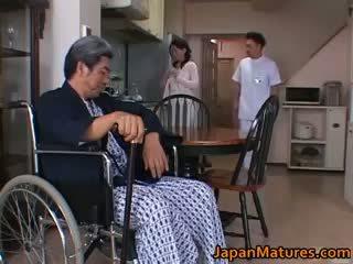 Miki sato érett nipponjin modell part5