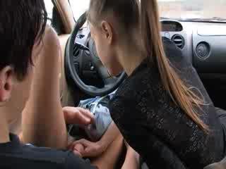 Elegant suihinotto sisään minun auto