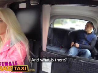 Female fake taxi tourist creampies und gets ein feucht muschi willkommen