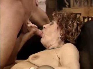 Kietas vokiškas senelė porno