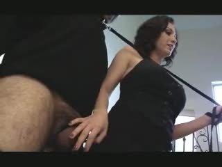 Hubby sucks her hary slaves gutarmak