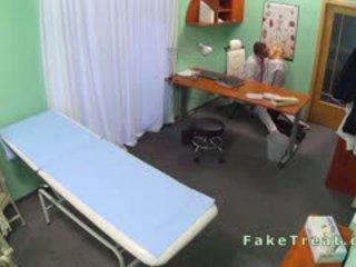Doctor Fucks Sales Woman In An Office