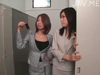 일본의, 레즈비언, 운지법