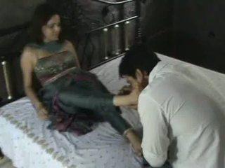 Indieši modele uz churidar pēda dievināšana