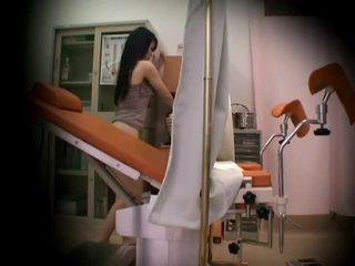 Gynecologist ซ่อนเร้น spycam
